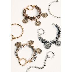 Coin Wrap Bracelet Set by Free People