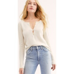 Liquid Sugar Cashmere Henley by Free People
