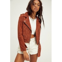 Suede Moto Jacket by Blank NYC at Free People, Mud Pie, M found on MODAPINS from Free People for USD $198.00
