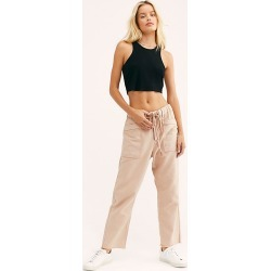 City Slouch Canvas Pants by Free People