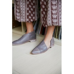Royale Flat by FP Collection at Free People, Grey, EU 37 found on Bargain Bro Philippines from Free People for $198.00