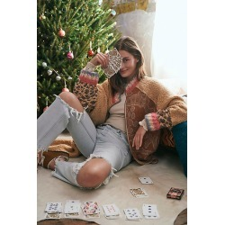Lady Moon Playing Cards by Free People, Blue, One Size found on Bargain Bro Philippines from Free People for $18.00