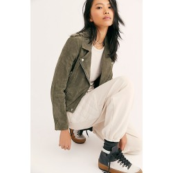 Suede Moto Jacket by Blank NYC at Free People, Herb, S found on MODAPINS from Free People for USD $198.00