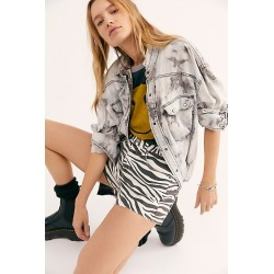 Blank NYC Printed Cut Off Shorts by Blank NYC at Free People, Comeback Kid, 31 found on MODAPINS from Free People for USD $78.00