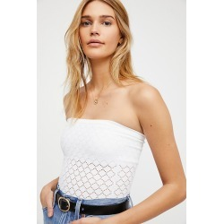 Honey Textured Tube by Intimately at Free People, White, M/L found on Bargain Bro Philippines from Free People for $38.00