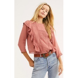Jasmine Ruffle Blouse by Free People