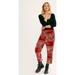 Fes Velvet Harem Pants by Free People