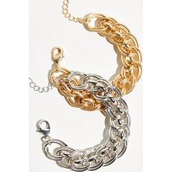 Stella Bracelet by Free People, Gold, One Size