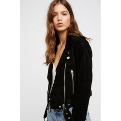 Suede Moto Jacket by Blank NYC at Free People, Seal The Deal, M found on MODAPINS from Free People for USD $198.00