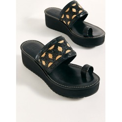 Emilie Sandals by Anna Sui at Free People, Black Leather, EU 38 found on MODAPINS from Free People for USD $149.95