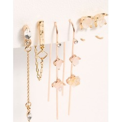 Raw Stone Earring Set by Free People