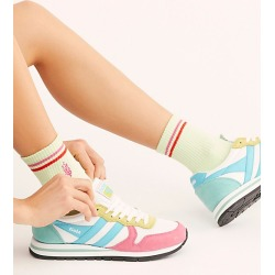 Gola Daytona Sneakers by Gola at Free People, White / Pink / Aqua, US 8 found on MODAPINS from Free People for USD $80.00