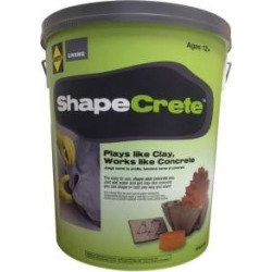 ShapeCrete 20 lb. Shape-able Concrete Mix found on Bargain Bro from  for $16.02
