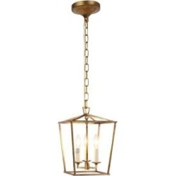 Denmark 3-Light Golden Iron Pendant found on Bargain Bro from  for $5