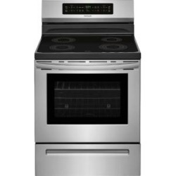 Frigidaire 30 in. 5.4 cu. ft. Induction Range with Self-Cleaning Oven in Stainless Steel-FFIF3054TS - The Home Depot found on Bargain Bro from  for $40