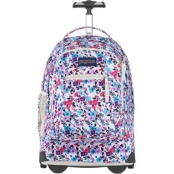 JanSport Driver 8 Backpack Rolling Bags - Petal To The Metal Floral