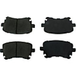 2009 Audi S4 Brake Pad Set Centric found on Bargain Bro India from JC Whitney for $49.81