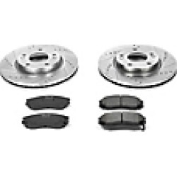 2006 Hyundai Tiburon Brake Disc and Pad Kit Powerstop found on Bargain Bro Philippines from JC Whitney for $242.29
