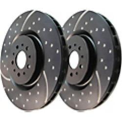 2011 Toyota RAV4 Brake Disc EBC Brakes found on Bargain Bro Philippines from JC Whitney for $261.85