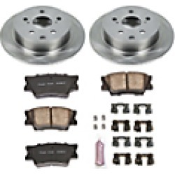 2010 Pontiac Vibe Brake Disc and Pad Kit Powerstop found on Bargain Bro Philippines from JC Whitney for $141.56