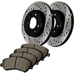 2007 Infiniti QX56 Brake Disc and Pad Kit StopTech found on Bargain Bro India from JC Whitney for $522.31