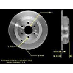 2011 Kia Borrego Brake Disc Bendix found on Bargain Bro India from JC Whitney for $68.03