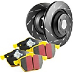 2010 Infiniti QX56 Brake Disc and Pad Kit EBC Brakes found on Bargain Bro India from JC Whitney for $296.06