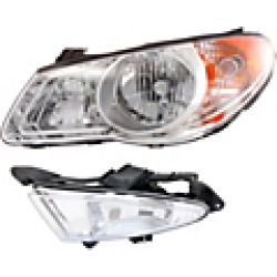 2009 Hyundai Elantra Headlight Replacement found on Bargain Bro India from JC Whitney for $323.40