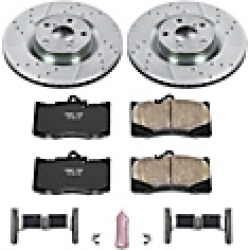 2018 Lexus GS300 Brake Disc and Pad Kit Powerstop found on Bargain Bro India from JC Whitney for $311.29