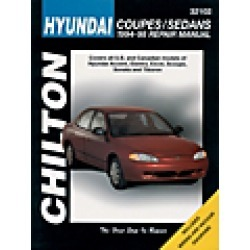 1994 Hyundai Excel Repair Manual Chilton found on Bargain Bro India from JC Whitney for $31.95