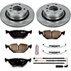 2008 BMW Z4 Brake Disc and Pad Kit Powerstop found on Bargain Bro India from JC Whitney for $146.89