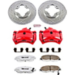 1997 Honda Accord Brake Disc and Caliper Kit Powerstop found on Bargain Bro India from JC Whitney for $317.99