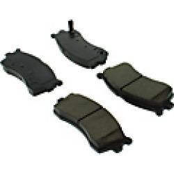 2003 Kia Spectra Brake Pad Set Centric
