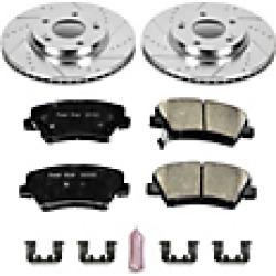 2016 Hyundai Elantra Brake Disc and Pad Kit Powerstop found on Bargain Bro India from JC Whitney for $204.38
