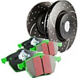 2017 Hyundai Elantra Brake Disc and Pad Kit EBC Brakes found on Bargain Bro Philippines from JC Whitney for $373.68