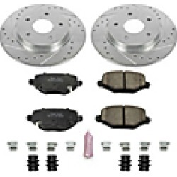 2016 Dodge Grand Caravan Brake Disc and Pad Kit Powerstop found on Bargain Bro India from JC Whitney for $211.49