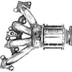 2002 Saturn SC1 Catalytic Converter Catco found on Bargain Bro India from JC Whitney for $1339.20