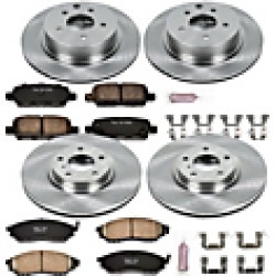 2010 Infiniti M45 Brake Disc and Pad Kit Powerstop found on Bargain Bro India from JC Whitney for $298.51