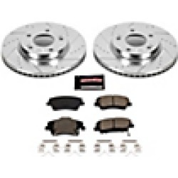 2018 Hyundai Elantra Brake Disc and Pad Kit Powerstop found on Bargain Bro India from JC Whitney for $184.95
