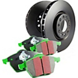 2016 Chevrolet Equinox Brake Disc and Pad Kit EBC Brakes found on Bargain Bro Philippines from JC Whitney for $244.73