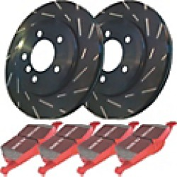 2002 Saturn L100 Brake Disc and Pad Kit EBC Brakes found on Bargain Bro India from JC Whitney for $312.90