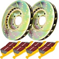 2002 Saturn L100 Brake Disc and Pad Kit EBC Brakes found on Bargain Bro India from JC Whitney for $531.42