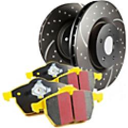 2004 Chevrolet Tracker Brake Disc and Pad Kit EBC Brakes found on Bargain Bro India from JC Whitney for $355.05
