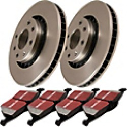 2001 Toyota Camry Brake Disc and Pad Kit EBC Brakes found on Bargain Bro India from JC Whitney for $119.27