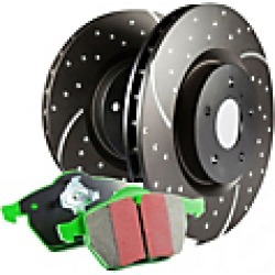 2014 Audi S5 Brake Disc and Pad Kit EBC Brakes found on Bargain Bro Philippines from JC Whitney for $241.45