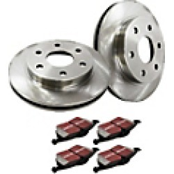 2001 Toyota Camry Brake Disc and Pad Kit EBC Brakes found on Bargain Bro India from JC Whitney for $105.08