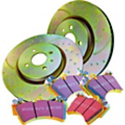 2008 Pontiac Wave Brake Disc and Pad Kit EBC Brakes found on Bargain Bro Philippines from JC Whitney for $261.27