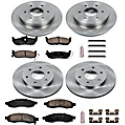 2004 Infiniti QX56 Brake Disc and Pad Kit Powerstop found on Bargain Bro India from JC Whitney for $306.60