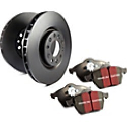 2012 Chevrolet Colorado Brake Disc and Pad Kit EBC Brakes found on Bargain Bro Philippines from JC Whitney for $284.84