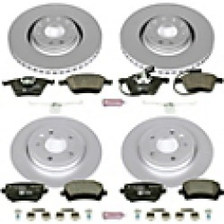2009 Audi A4 Brake Disc and Pad Kit Powerstop found on Bargain Bro India from JC Whitney for $521.89